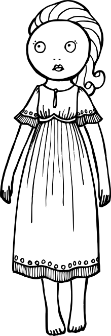 A doll named Winnie.